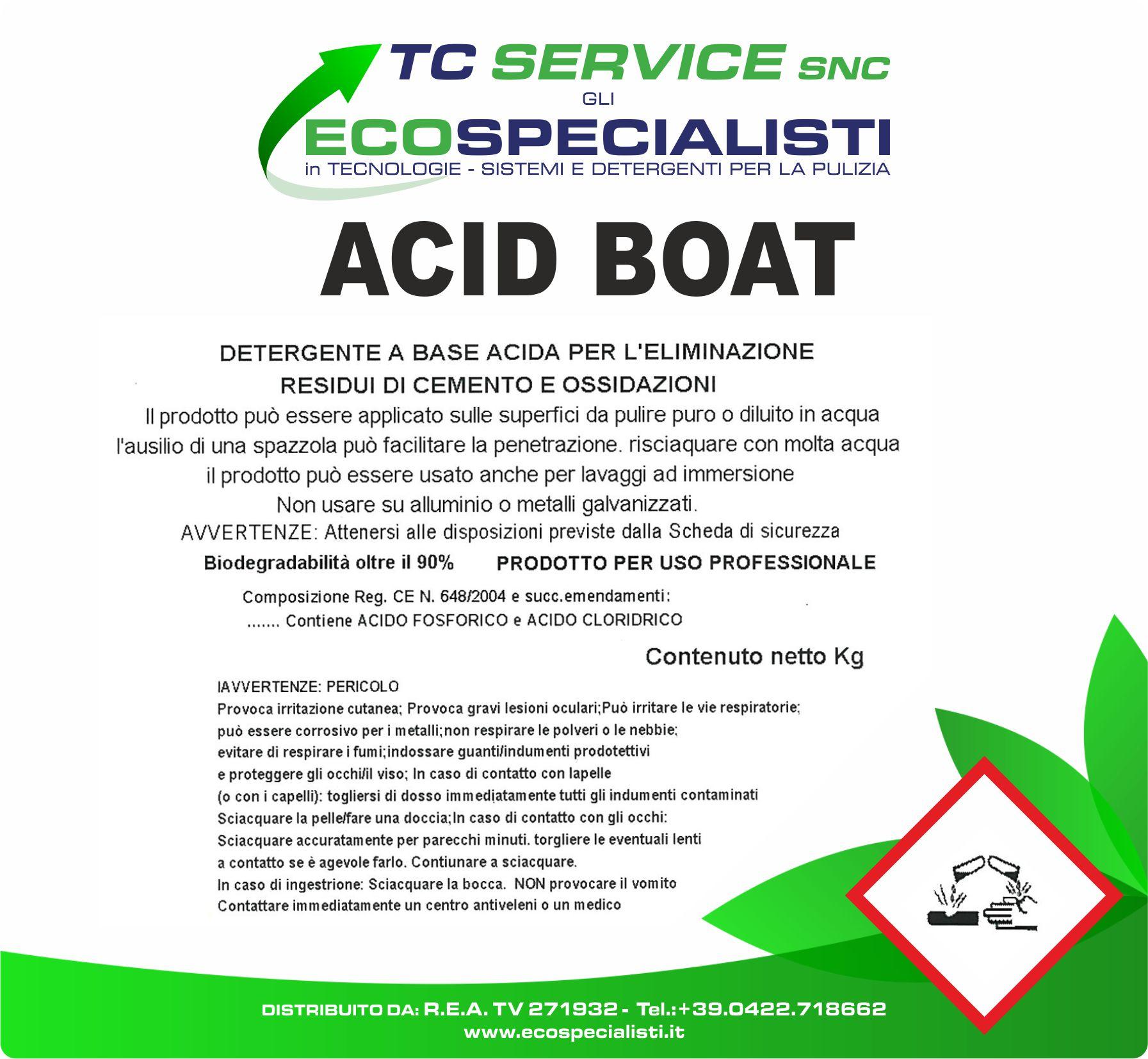 Acid Boat