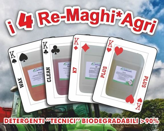 4 re maghi agri