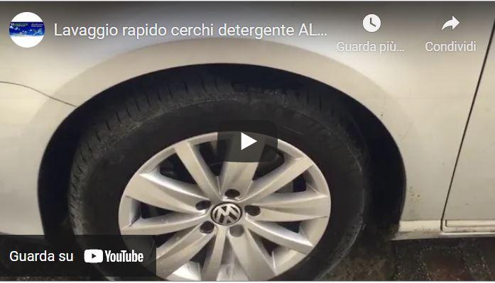Lavaggio rapido cerchi detergente ALCALINO BIODEGRADABILE > 90 %