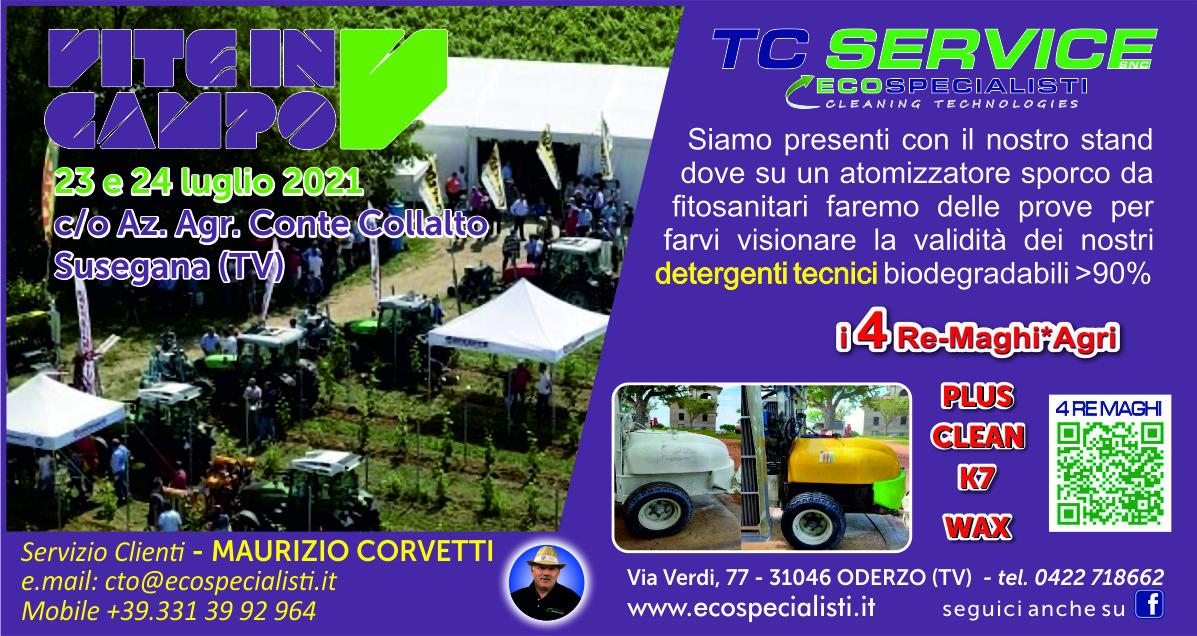 Vite in Campo 23 e 24 Luglio 2021 – c/o Az. Agr. Conte Collalto Susegana (TV).